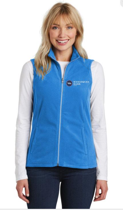 Ladies' Port Authority Microfleece Vest [MB]
