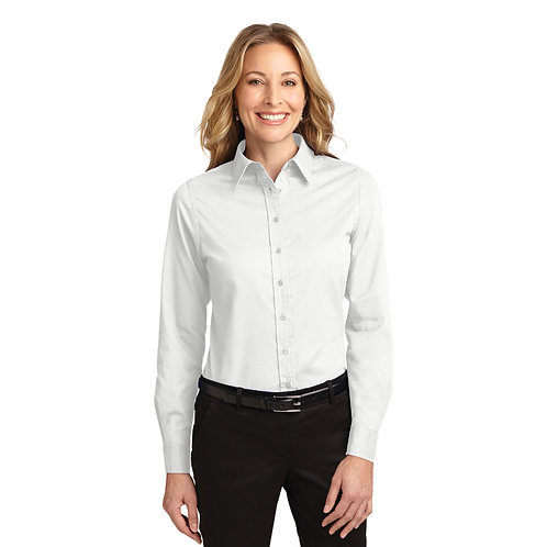 Port Authority® Ladies Long Sleeve Easy Care Shirt [SAF]