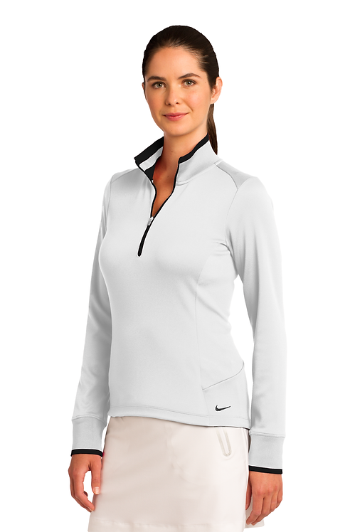 Nike Ladies Dri-FIT 1/2-Zip Cover-Up [MB]