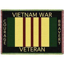 vietnam war veteran throw blanket
