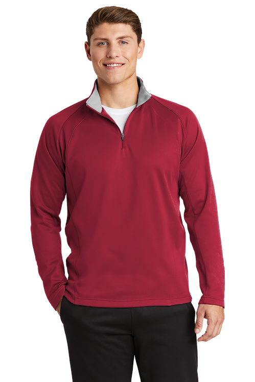 Sport-Tek® Sport-Wick® Fleece 1/4-Zip Pullover [LF]