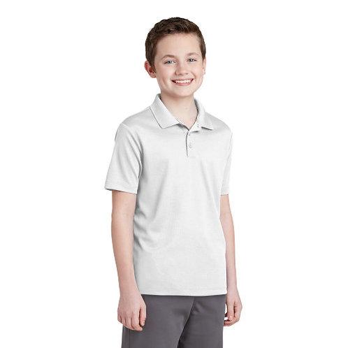 Sport-Tek® Youth PosiCharge® RacerMesh® Polo [MB]