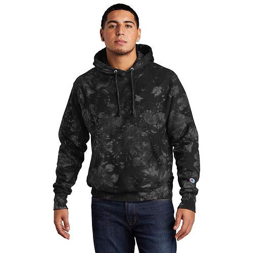 Champion ® Reverse Weave ® Scrunch-Dye Tie-Dye Hooded Sweatshirt [MB]