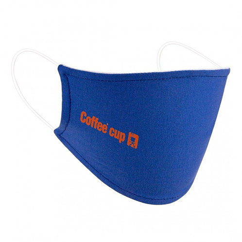 Standard Flat Cotton Face Mask with Pocket for Filter Insert