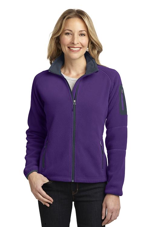 Port Authority® Ladies Enhanced Value Fleece Full-Zip Jacket [LF]