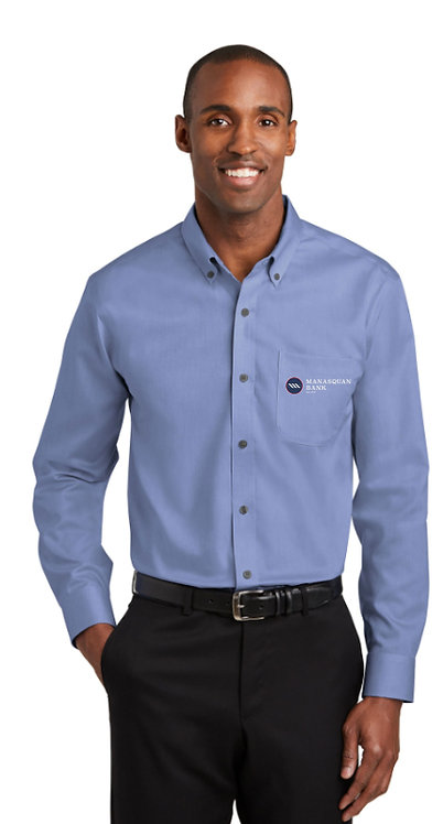 Men's Red House Pinpoint Oxford Non-Iron Shirt [MB]