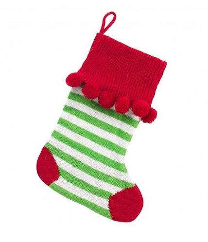 pom pom stocking