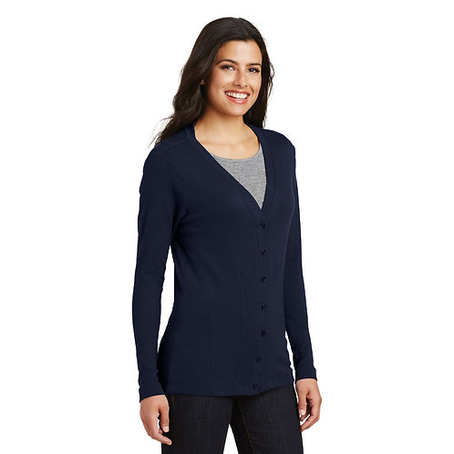 Port Authority® Ladies Modern Stretch Cotton Cardigan [SAF]