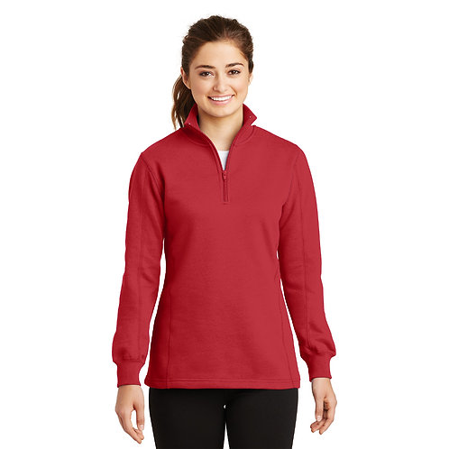 Sport-Tek® Ladies 1/4-Zip Sweatshirt [SAF]