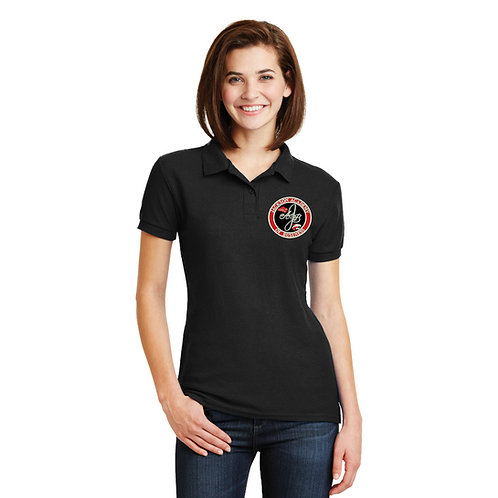 Ladies' Black Polo Shirt