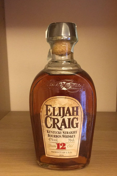 BOURBON WHISKEY ELIJAH CRAIG 12 ANNI  70CL 47%VOL