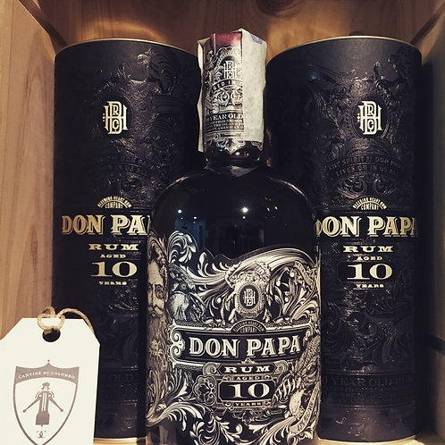 RUM DON PAPA 10 ANNI LIMITED EDITION 70CL 43% VOL