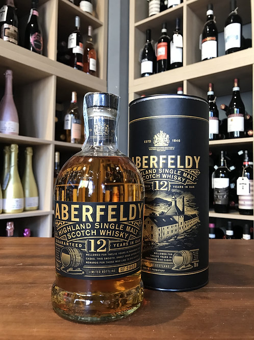 WHISKY ABERFELDY 12 ANNI HIGHLAND SINGLE MALT 70CL