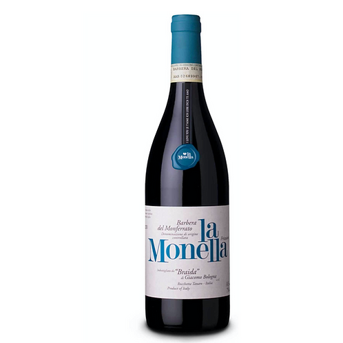 LA MONELLA BARBERA DEL MONFERRATO 2018 BRAIDA 75CL