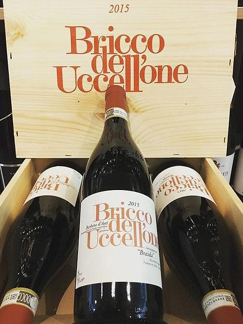 """BARBERA D'ASTI DOCG """"BRICCO DELL'UCCELLONE"""" 2015 75CL BRAIDA DI GIACOMO BOLOGNA"""