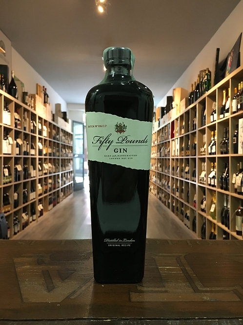 FIFTY POUNDS GIN 70 CL