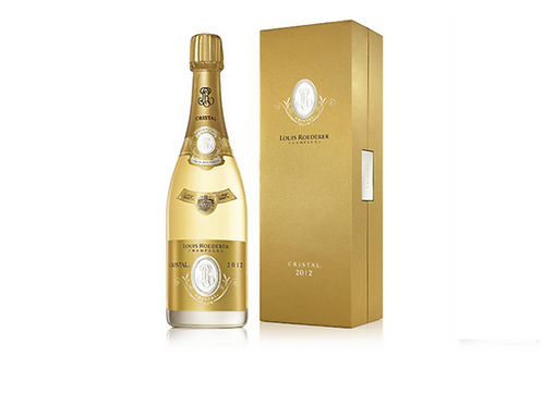 CHAMPAGNE CRISTAL 2008 75Cl LUIS ROEDERER IN ELEGANTE COFANETTO