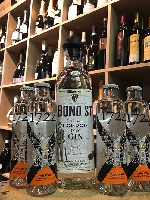 CONFEZIONE GIN&TONIC LONDON DRY GIN BOND ST.