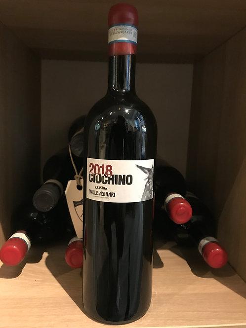 CIUCHINO MONFERRATO ROSSO DOC 2017  VALLE ASINARI 75CL