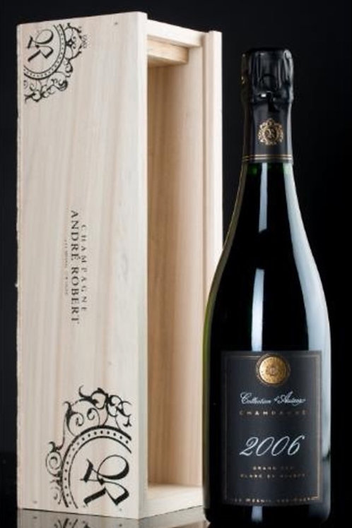 CHAMPAGNE COLLECTION D AUTEUR LE MESNIL GRAND CRU 2006 75CL ANDRE ROBERT