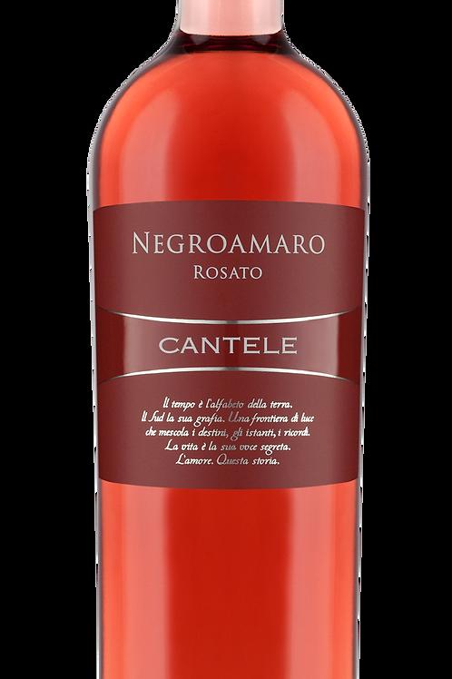 NEGROAMARO ROSATO 2017 CANTELE 75 CL