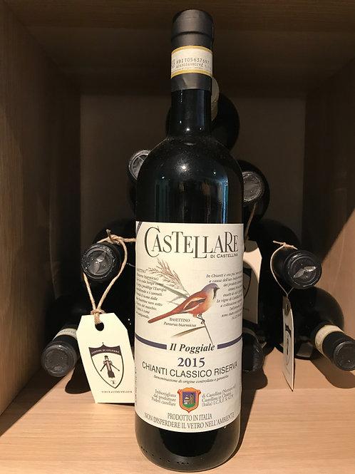 CHIANTI CLASSICO RISERVA 2015 IL POGGIALE CASTELLARE 75Cl