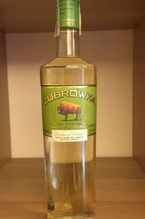VODKA ZUBROWKA 70CL