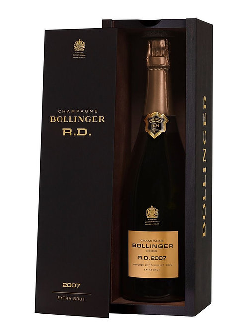 CHAMPAGNE BOLLINGER R.D 2007 EXTRA BRUT IN COFANETTO