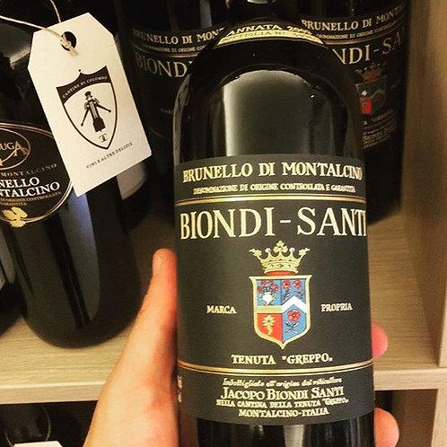 BRUNELLO DI MONTALCINO 2009 DOCG BIONDI-SANTI TENUTA IL GREPPO 75CL
