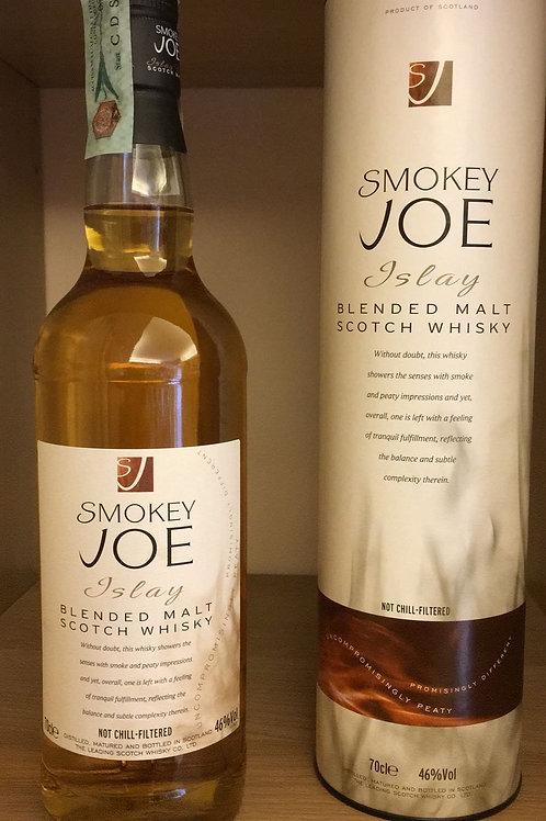 "ISLAY MALT SCOTCH WHISKY ""SMOKEY JOE"" ANGUS DUNDEE 70CL"