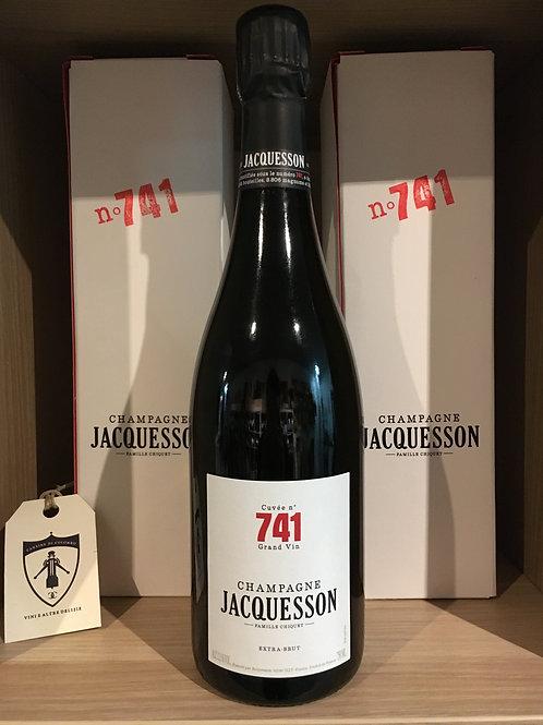 CHAMPAGNE EXTRA BRUT  CUVE'E N° 741 JACQUESSON (ASTUCCIO) 75CL