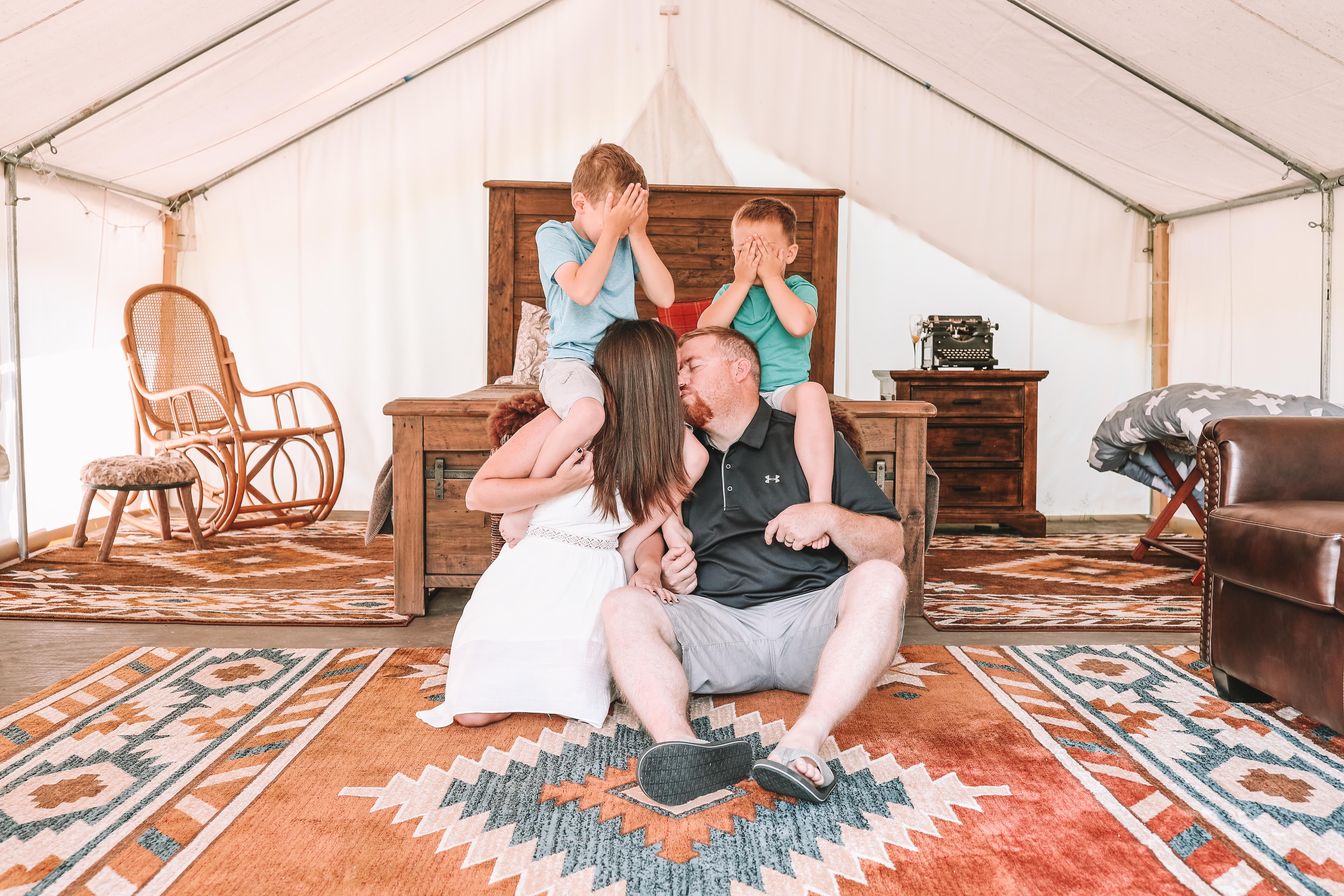 The Safari Tent- Asheville Glamping