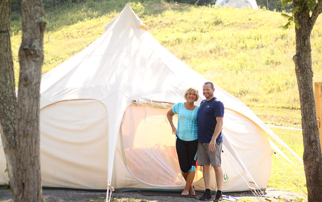 Book a Room at Asheville Glamping NC