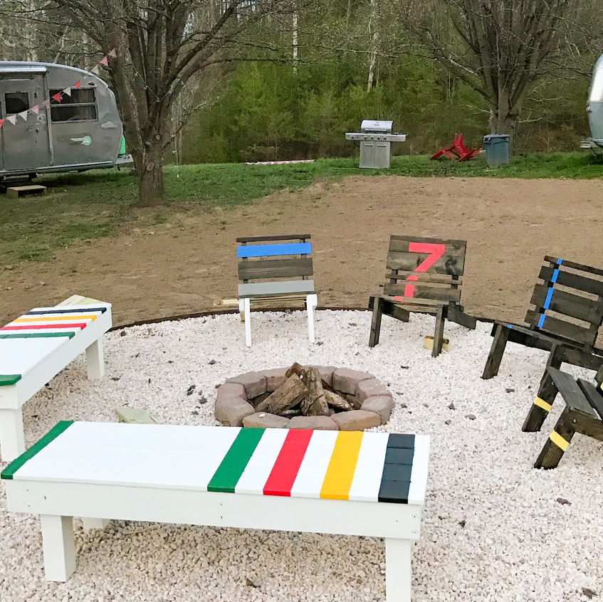 Trailer Corral fire pit
