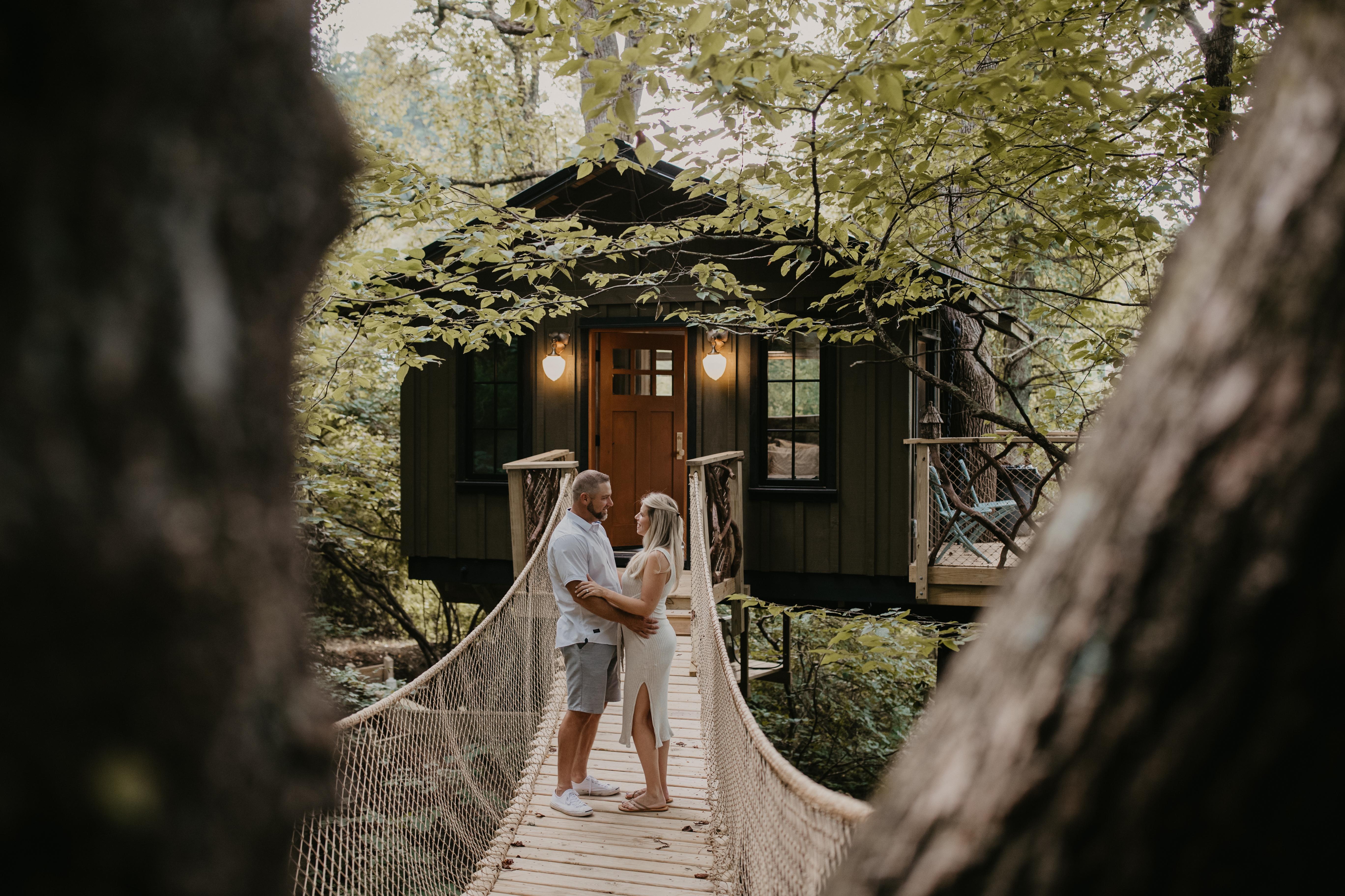 Asheville Treehouse - The Nest