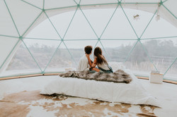 Dome 2 at Asheville Glamping