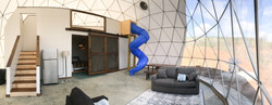 Dome 3 Asheville Glamping