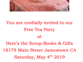 Free Tea Party at Here's the Scoop