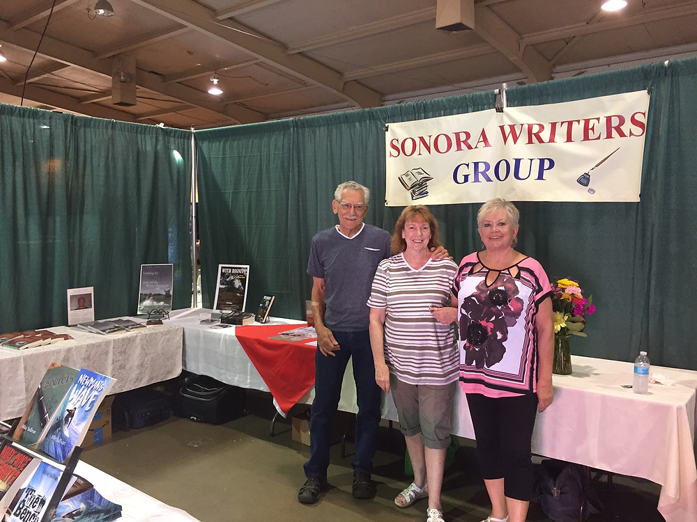 Sonora Writers Group Present at the Motherlode Fair in Tuolumne County July 7,8,and 9th 2017.