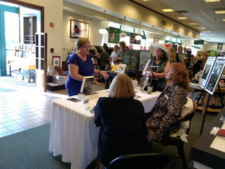 My first Barnes and Nobles Book Signing