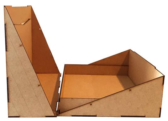 Caixa com Moldura Quadrada