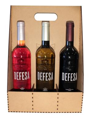 Caixa de 3x Vinhos