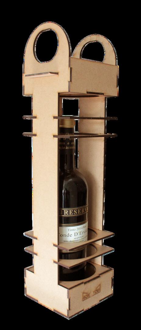 Embalagem comemorativa para garrafa
