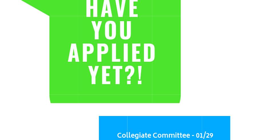 Applications!