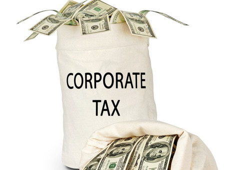 Steve Muehler (if I was Governor of California) - Plan 6: Corporate Tax Rate
