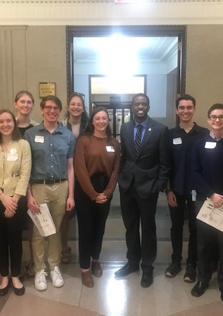 Meeting with St. Paul Mayor Melvin Carter