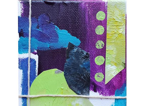 Mini Purple Art Block