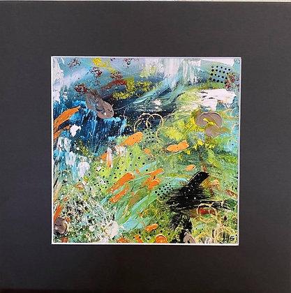 Moog and Mountains Giclee Print