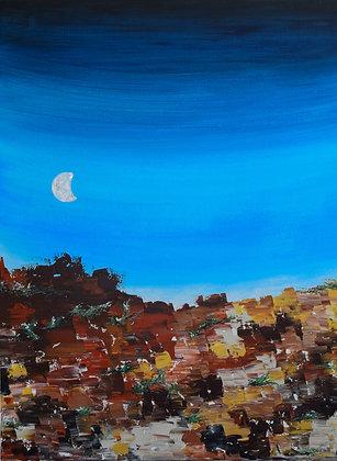 Desert Moonrise (The Other Coast)