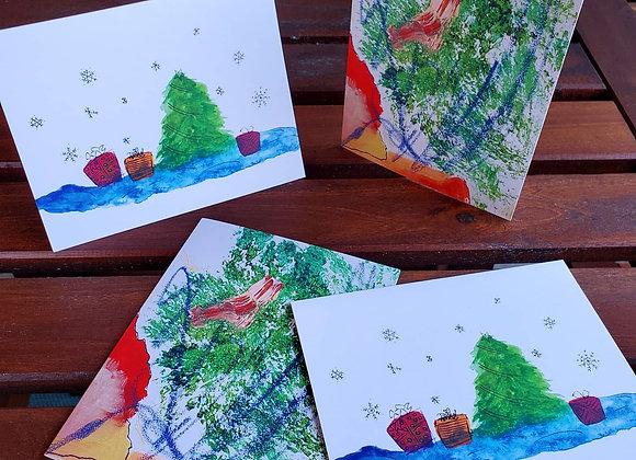 Jollier Holiday Greeting Card Set